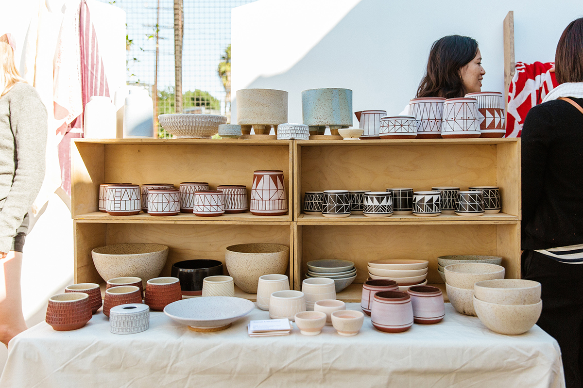ShopUp LA November 2017 Ceramic bowls