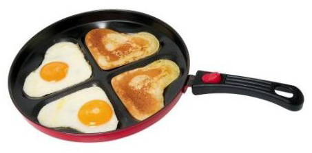 heart shaped pan