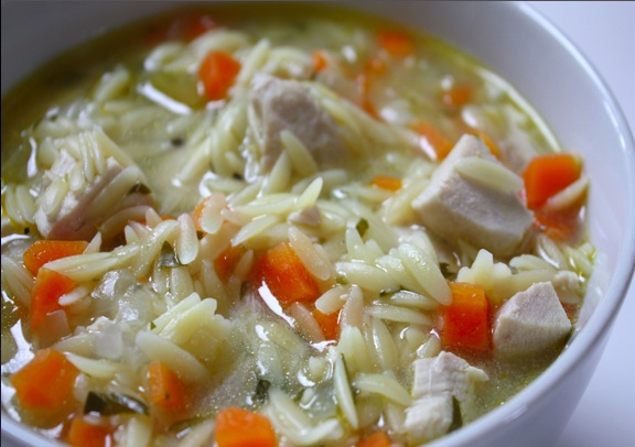 Lemon Chicken Orzo Soup « Babyccino Kids: Daily tips, Children's ...