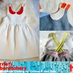 harriets haberdashery handmade dress for girls
