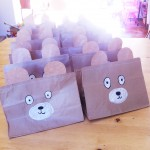 Teddy Bear party bags