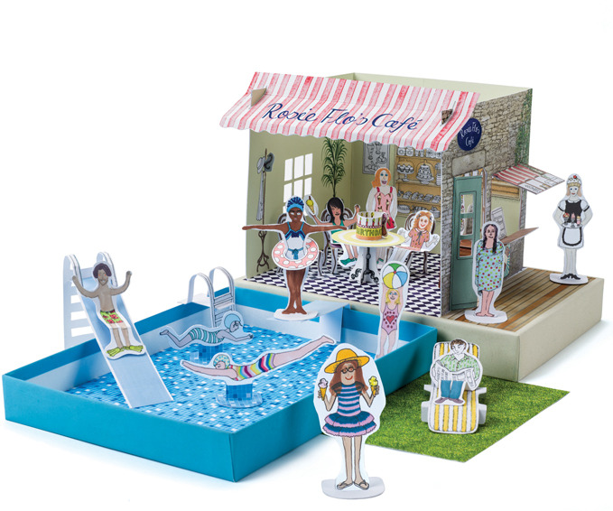 Wonderful Pool Finish Ideas For You To Copy: Rosie Flo's Colouring Pool Party « Babyccino Kids: Daily