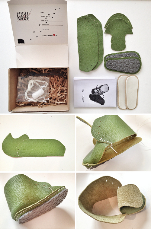 Make Your Own Pair Of Baby Shoes « Babyccino Kids: Daily Tips, Children's Products, Craft Ideas