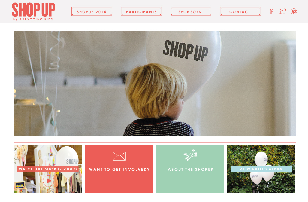 ShopUp website