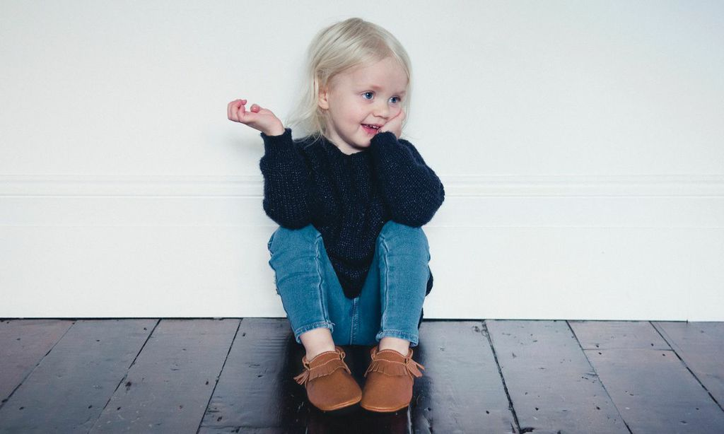 leather moccasins for kids