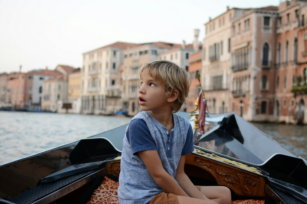 gondola ride in the grand canal