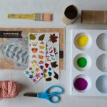 craft supplies and pipsticks stickers
