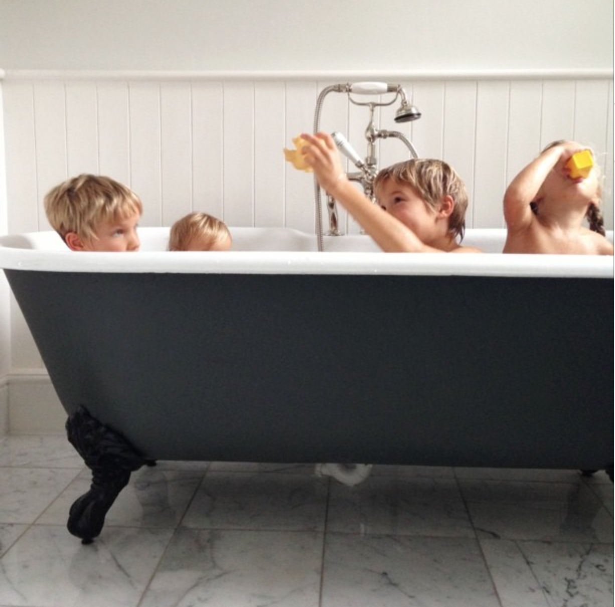 how often do you bathe your kids