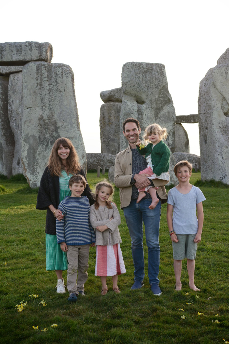 Adamo Family at Stonehenge
