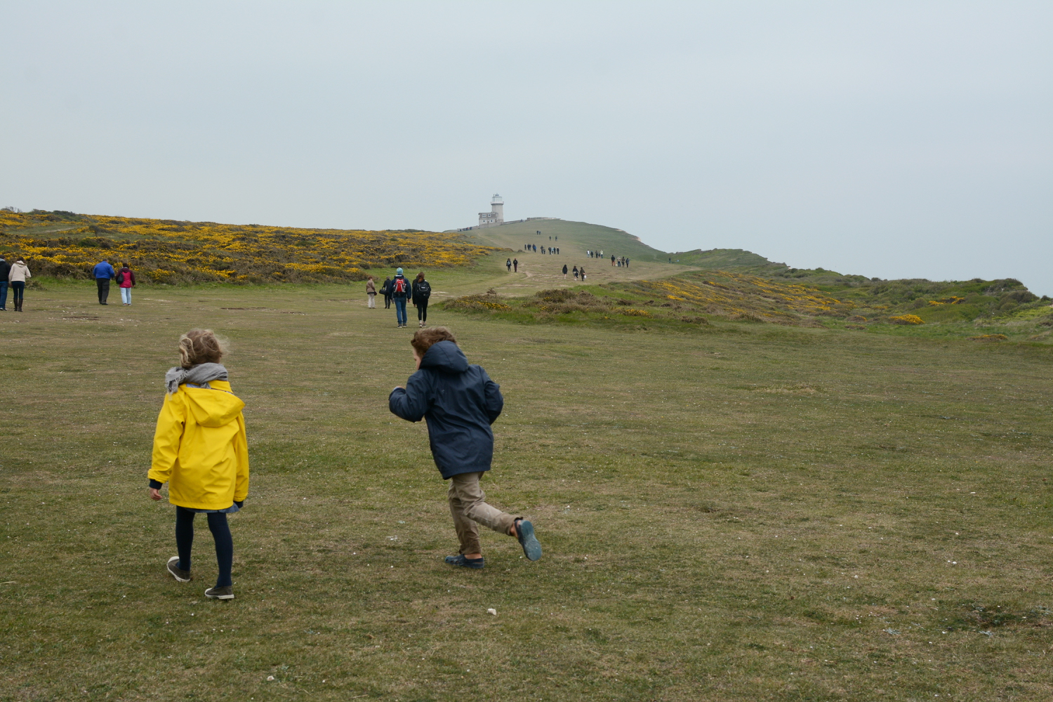 walking to the lighthouse