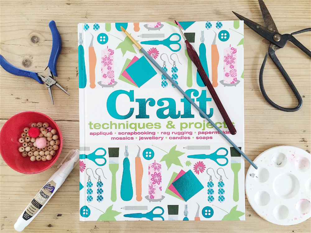 Book Cover Craft Update : The crafting bible babyccino kids daily tips