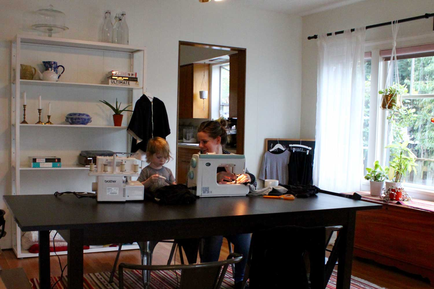 michele-sewing