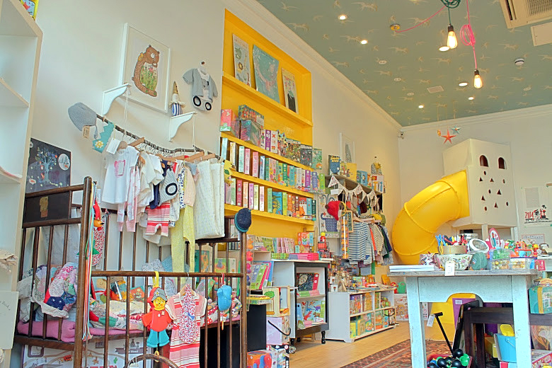 Niddle Noddle children's shop in London