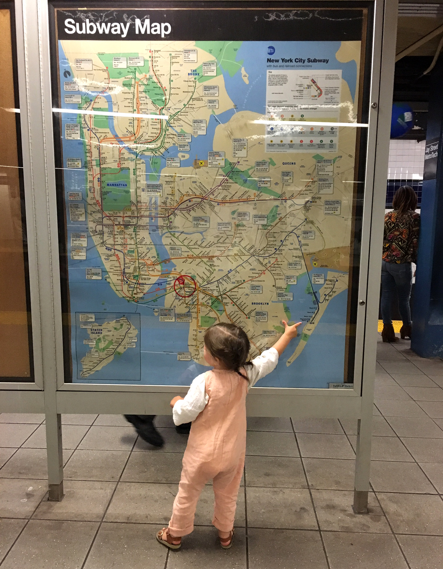subway map NYC