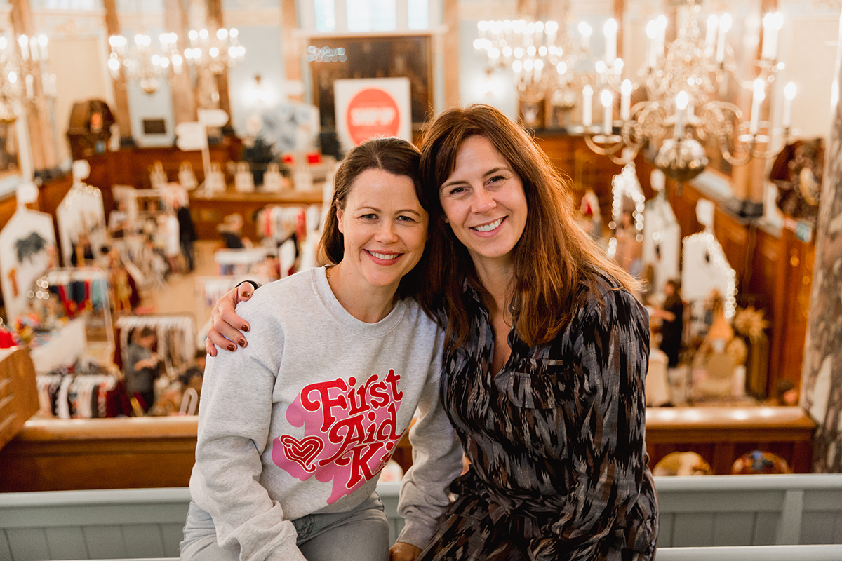 ShopUp London Holiday 2018 esther and emilie