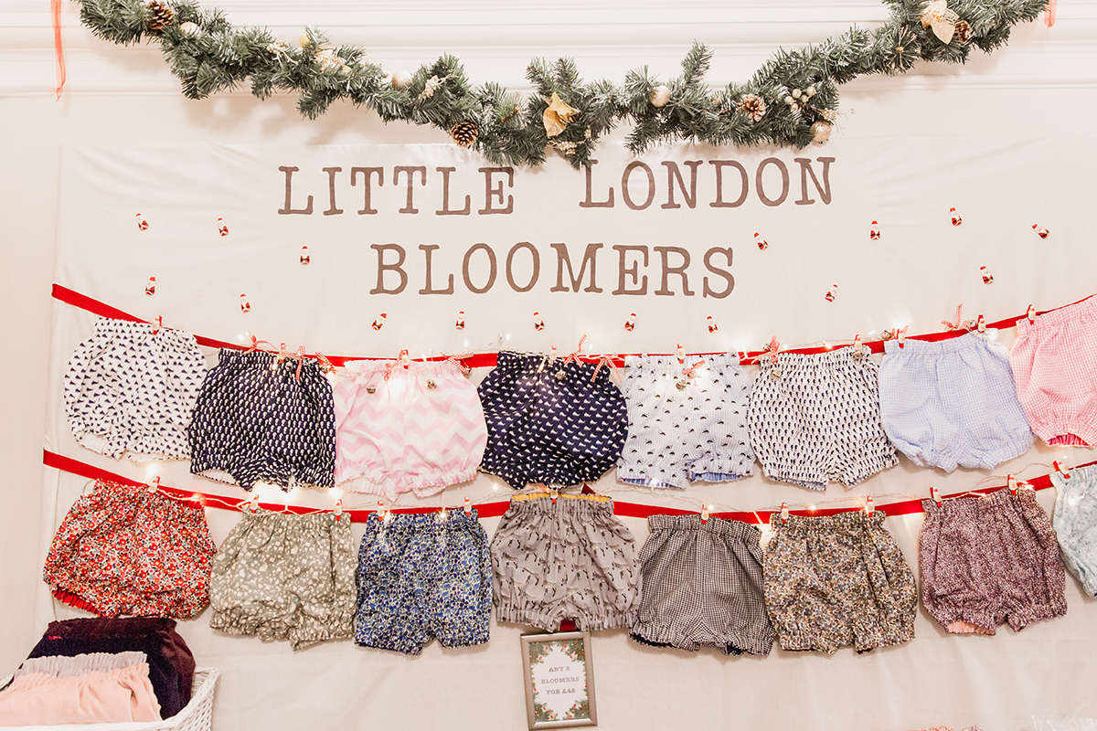 ShopUp London Holiday 2018 bloomers