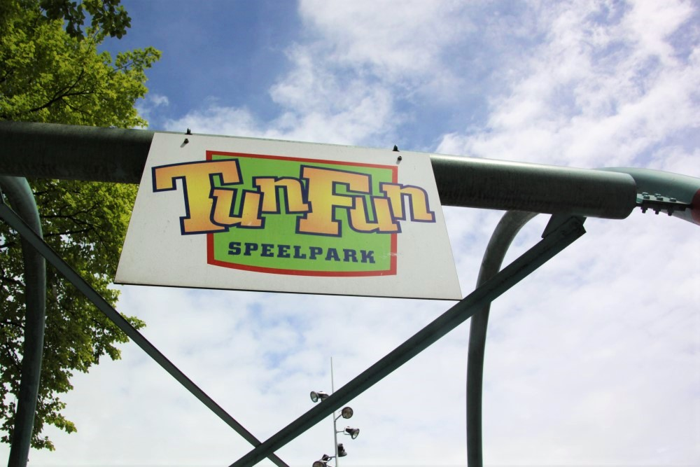 Tun Fun main entry sign