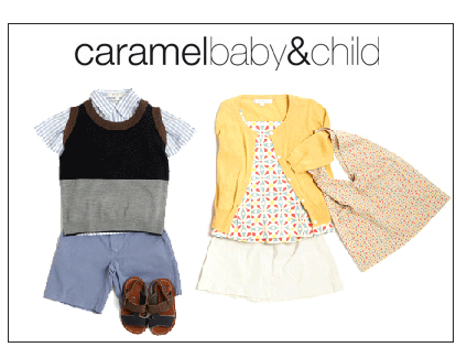 Caramel Baby and Child