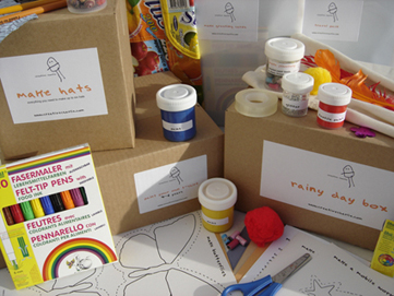Creative Charlie art and craft boxes