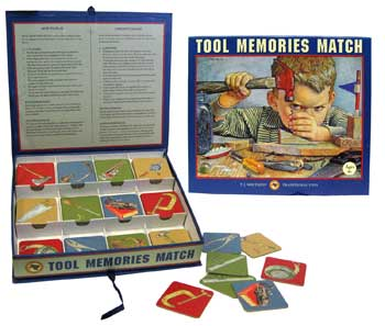 Tool Memories Match game
