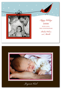 Petite Alma Holiday Cards