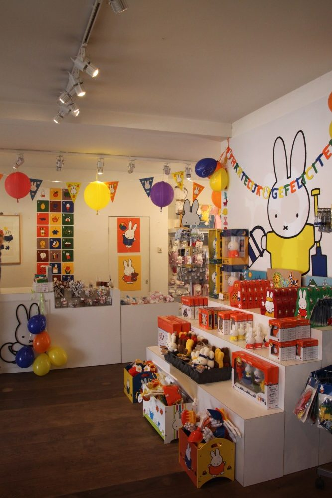 Miffy shop counter