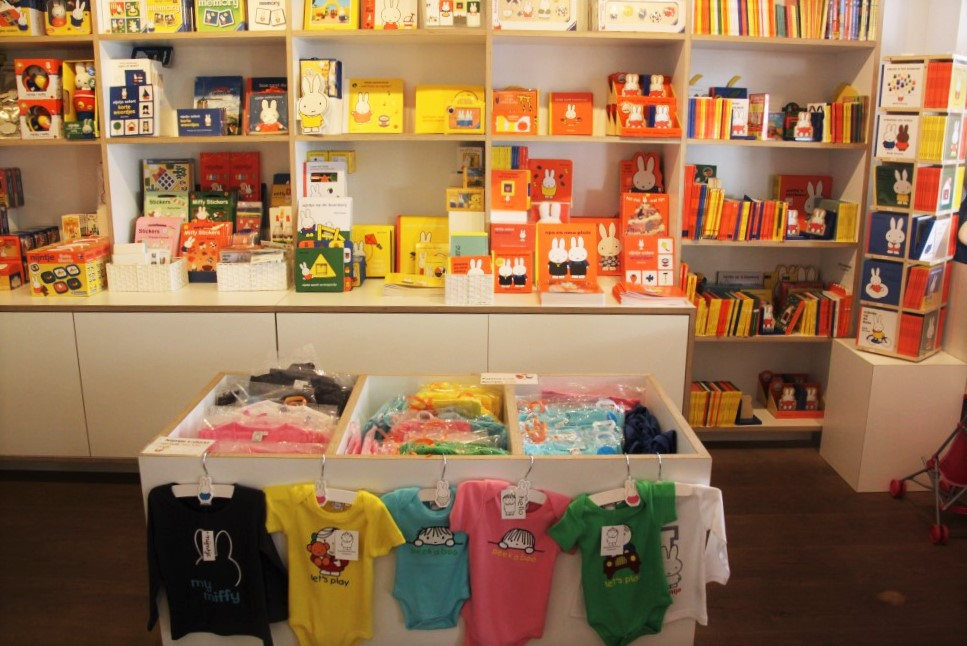 Miffy shop interior