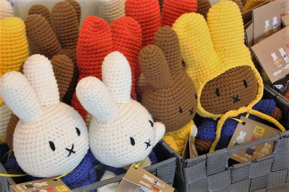 Miffy shop knitted dolls
