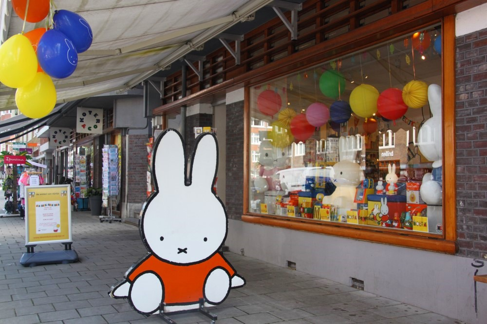 Miffy shop outside 2