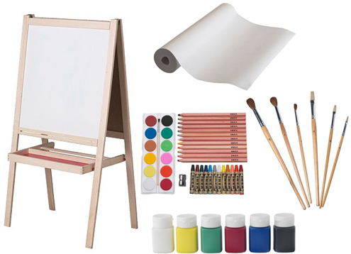 art supplies from ikea babyccino kids daily tips. Black Bedroom Furniture Sets. Home Design Ideas