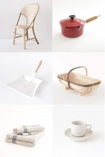 Landmade for simple household items from france babyccino for Minimalist household items