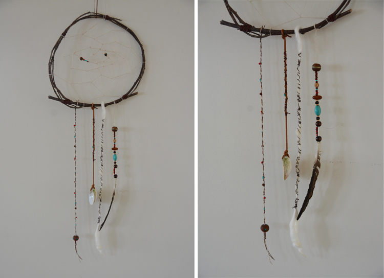 Make your own dreamcatchers babyccino kids daily tips for Easy homemade dream catchers