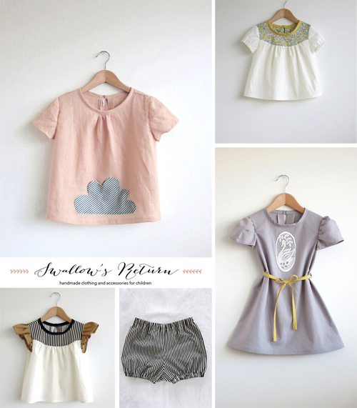 Swallow S Return Handmade Clothing On Etsy Babyccino Kids