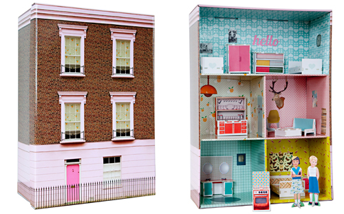 Cardboard London Dollhouse Babyccino Kids Daily Tips Children S