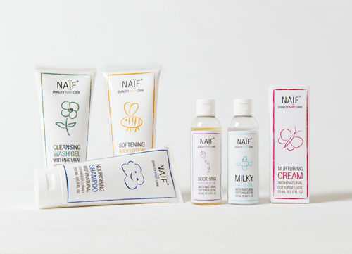 Pamper facial products
