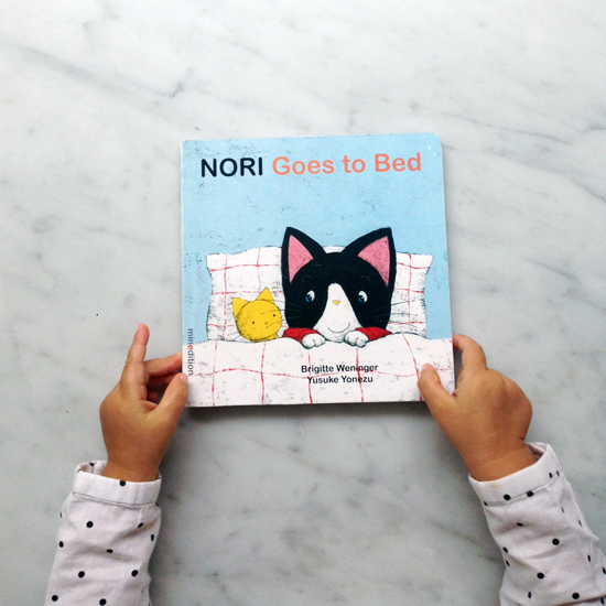Nori Goes to Bed book
