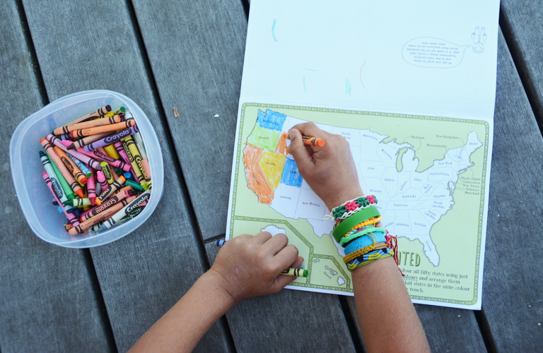 colouring american states