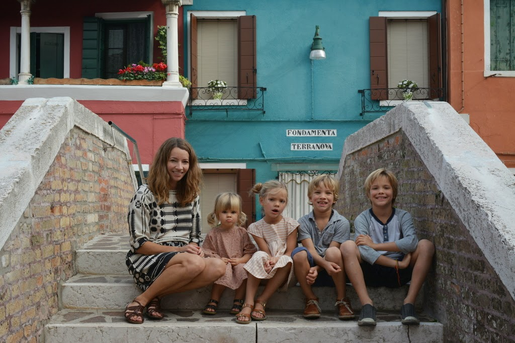 Adamo kids in Burano