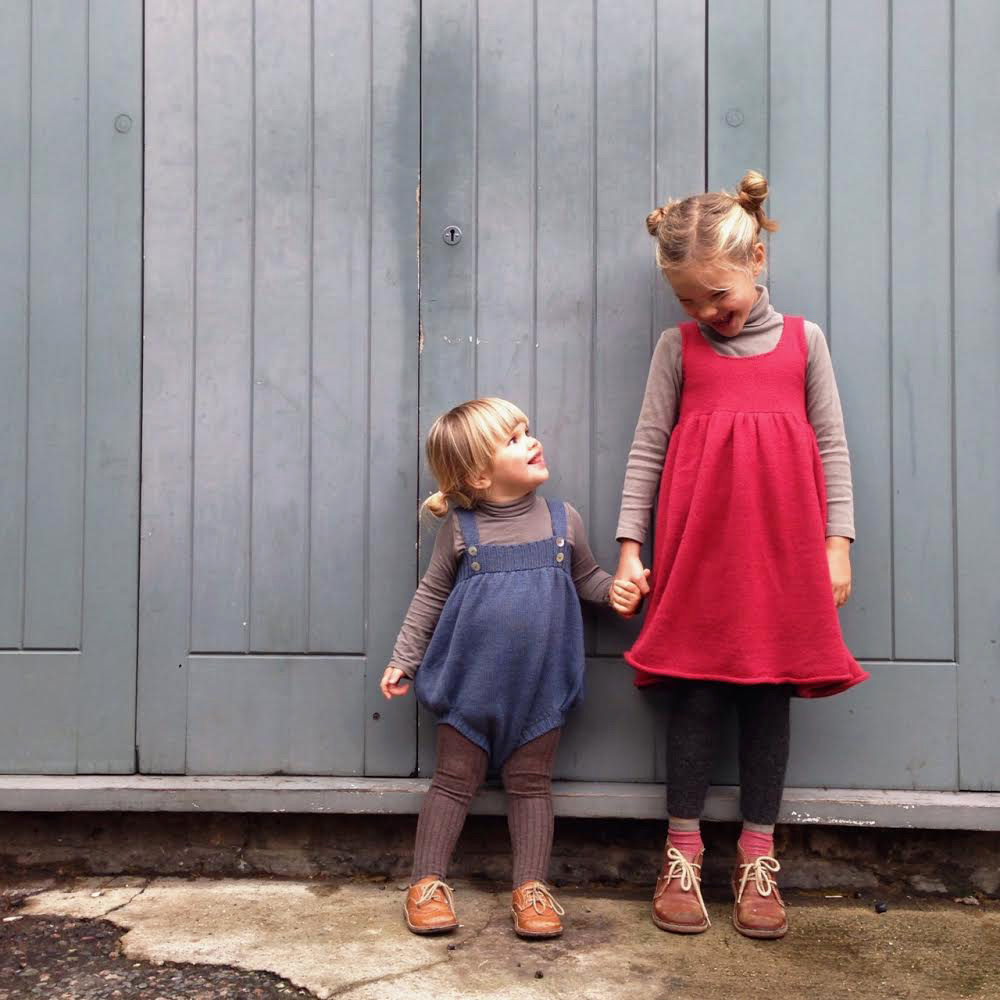 Marlow and Ivy in Waddler