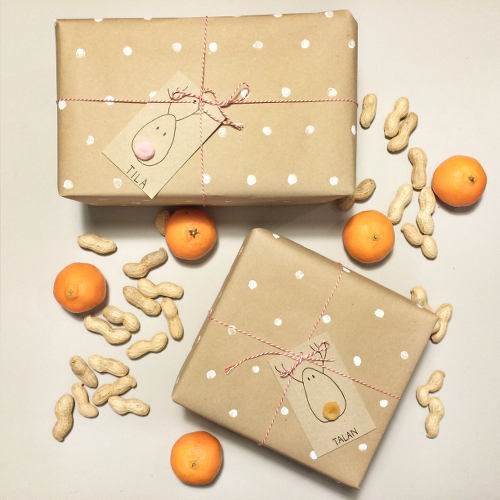 Wrapping Paper and Gift Tags DIY