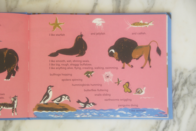 I Like Animals book