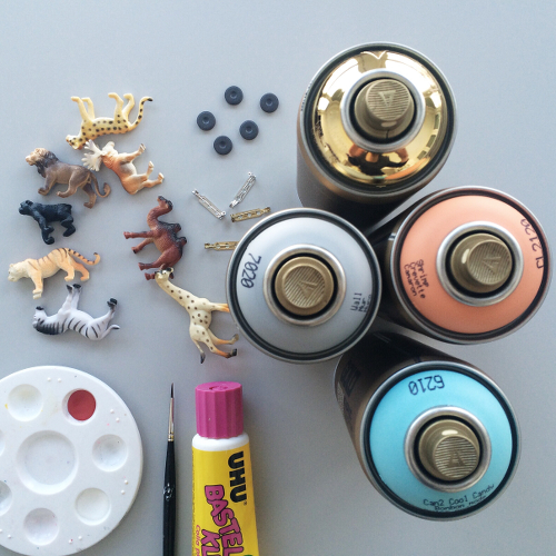 Animal Magnets and Brooches