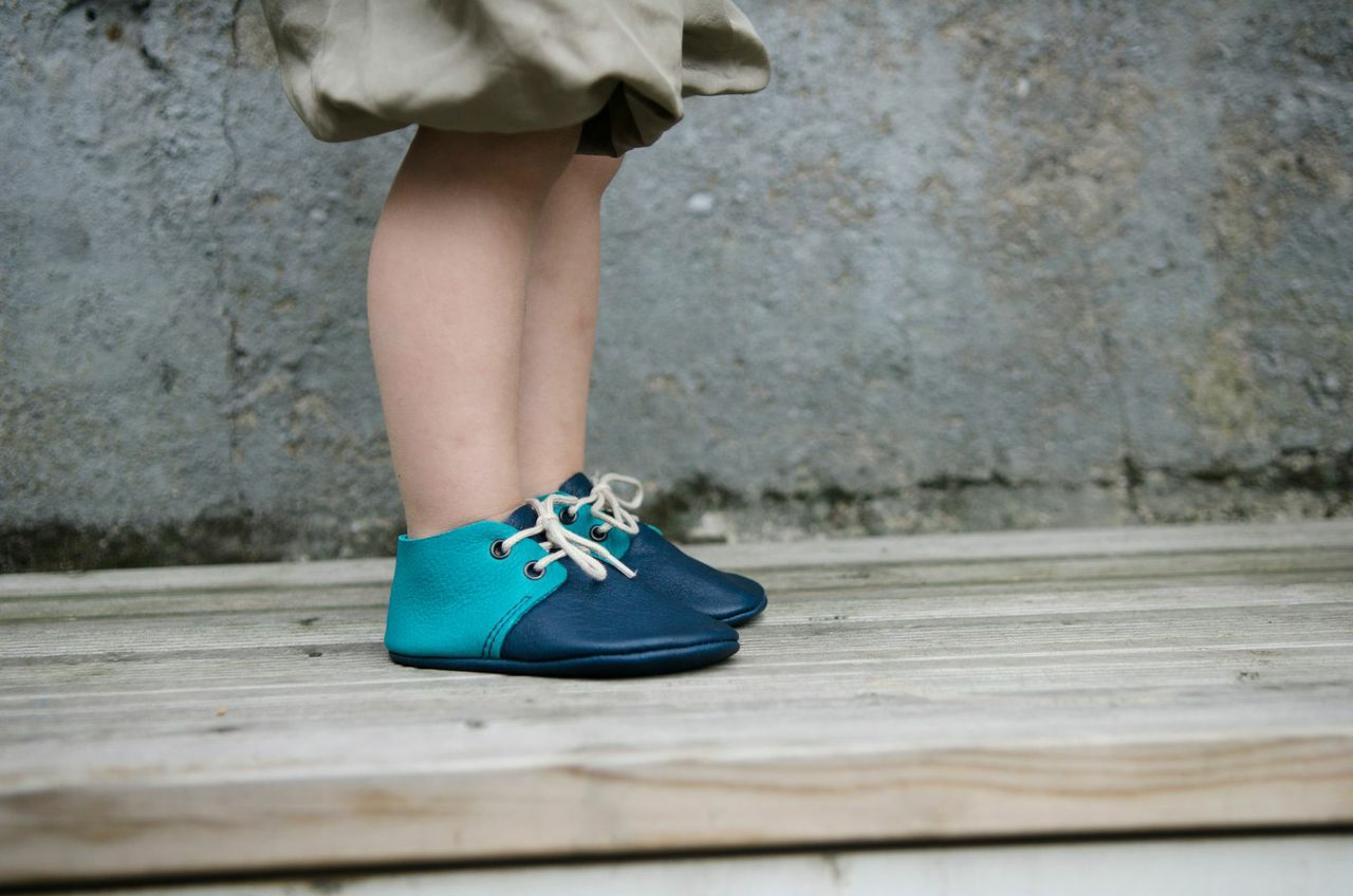 Amy & Ivor leather moccasins