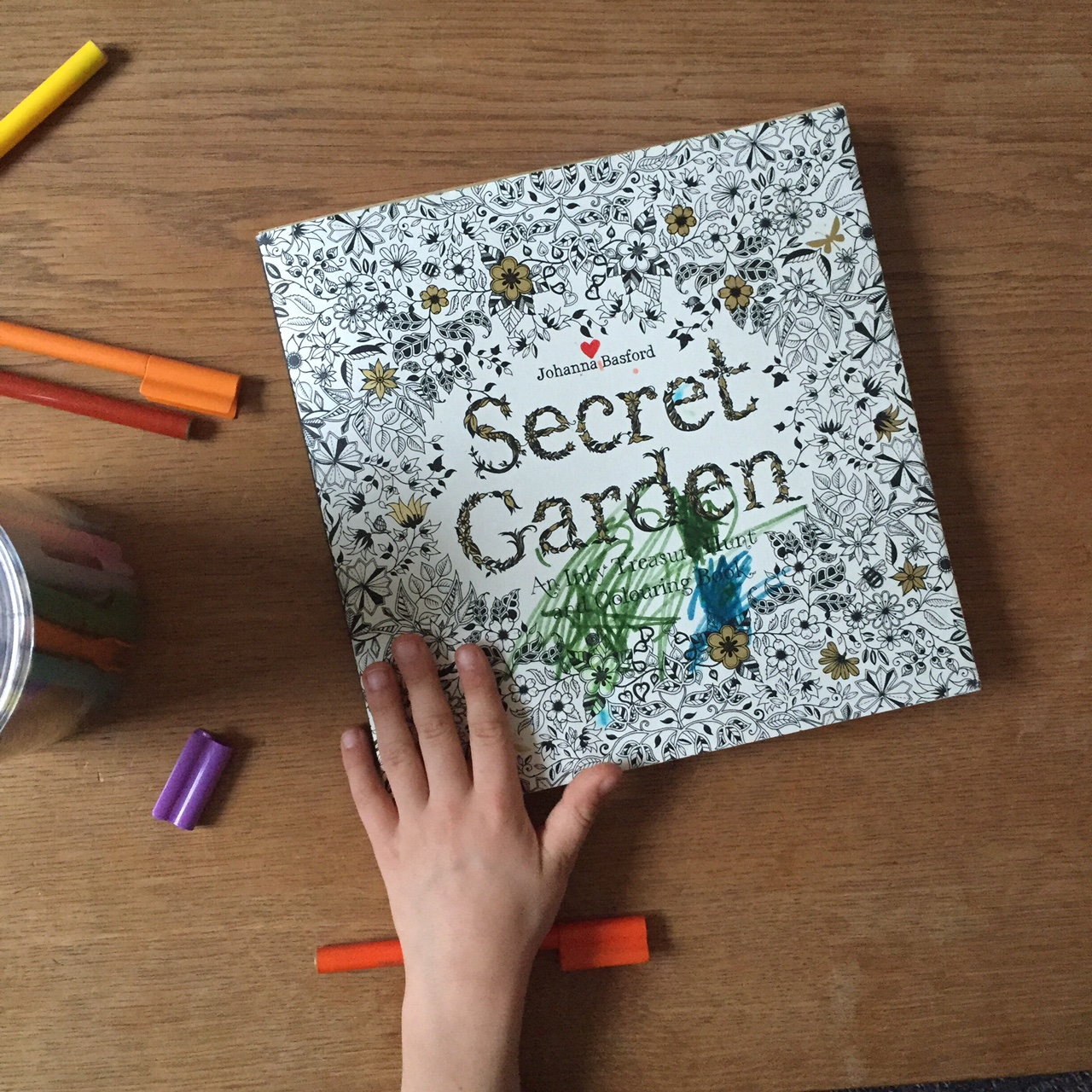 Secret Garden, an intricate colouring book Babyccino Kids: Daily ...