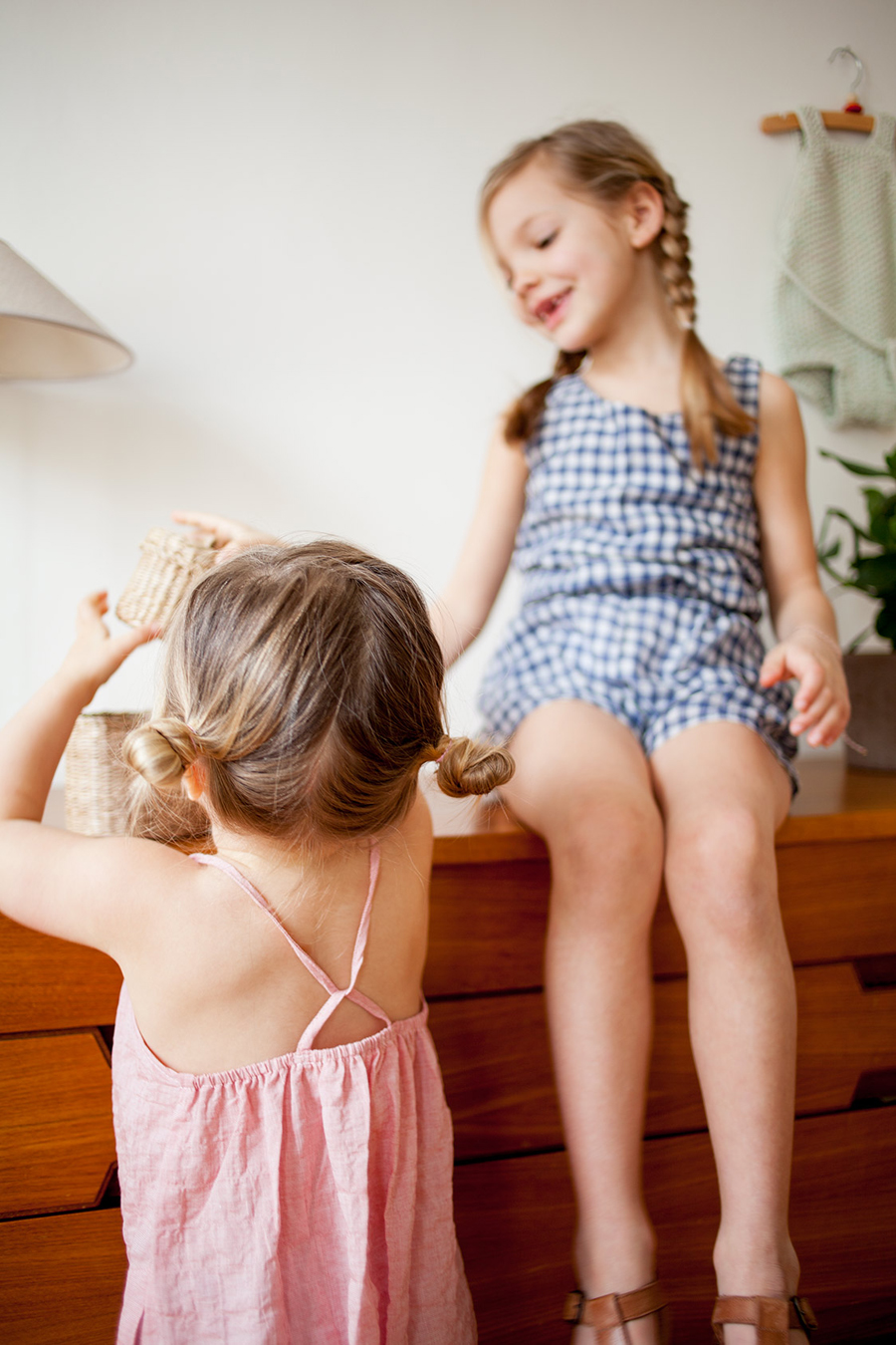 Ivy and Marlow wearing Soor Ploom