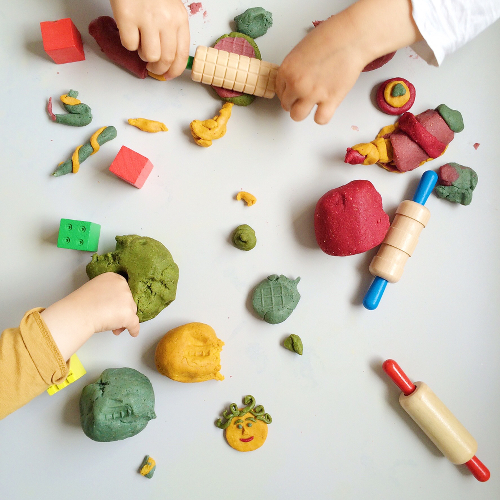 Edible Play Dough dough