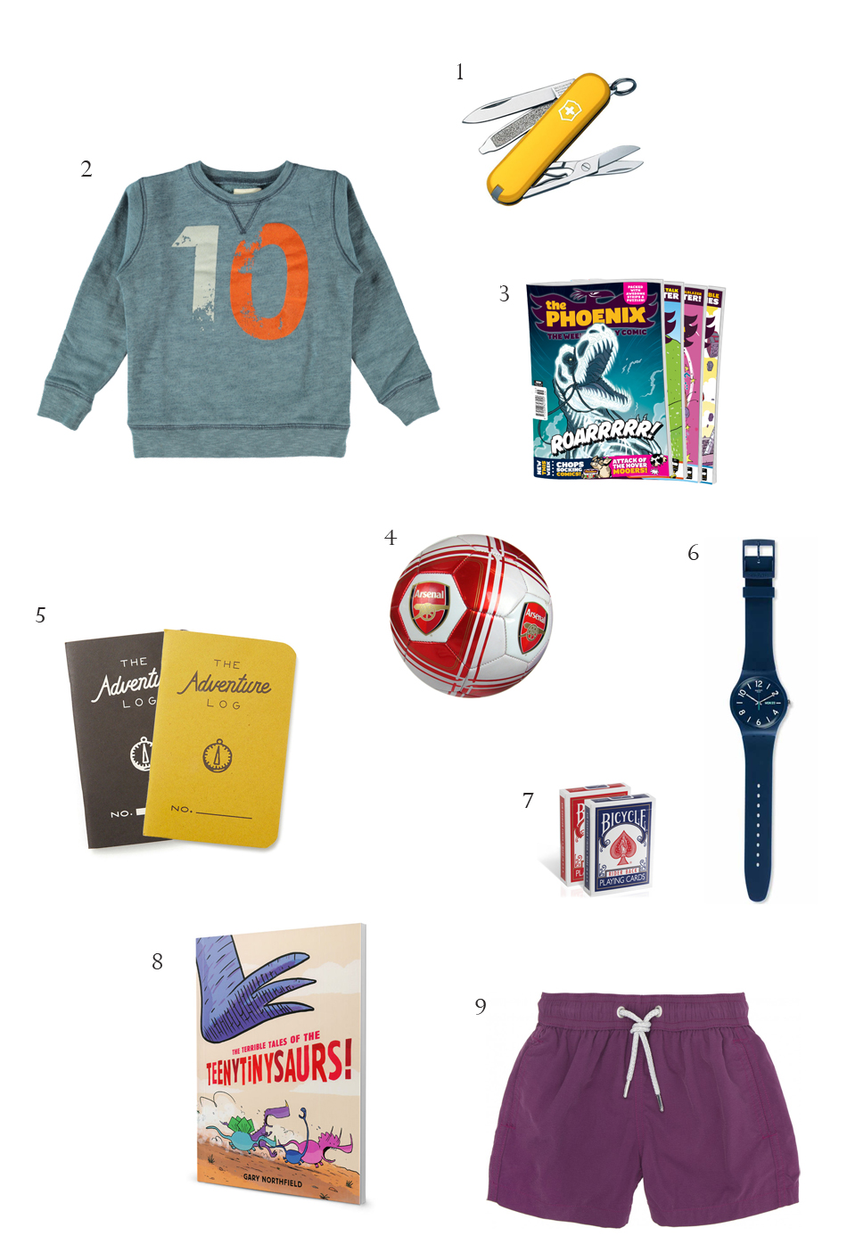 gifts for a 10-year-old boy
