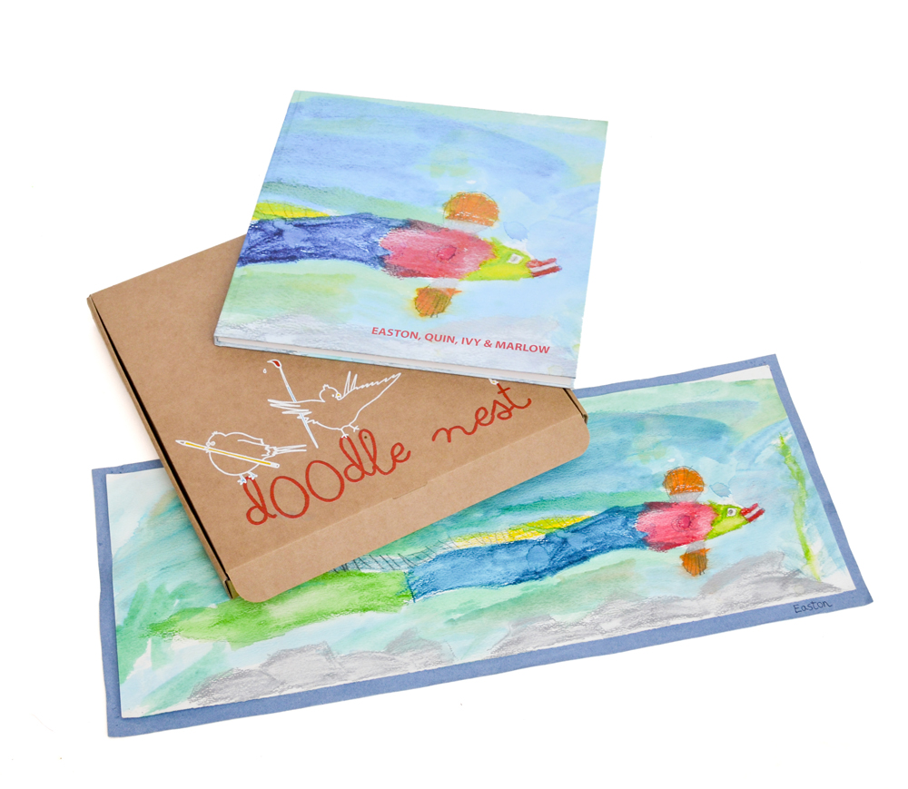 Doodle Nest Art Books The Perfect Way To Preserve Your Children S