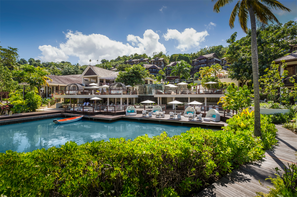 St. Lucia hotel prize