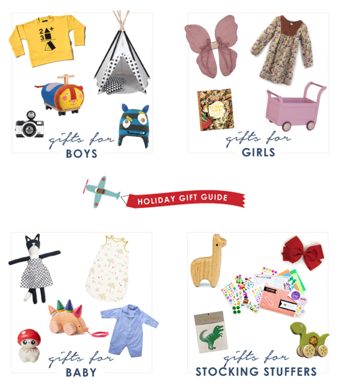 Babyccino Kids holiday gift guides 2015
